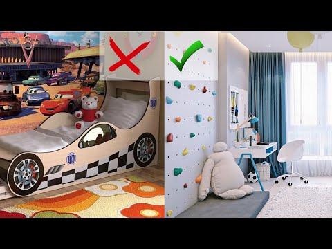 Как обустроить детскую комнату/ 5 ГЛАВНЫХ ПРАВИЛ планирования детской