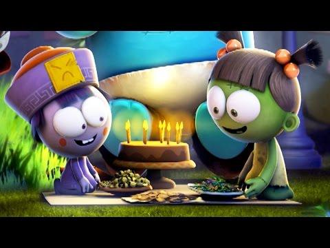 Funny Animated Cartoon | Spookiz Happy Birthday Party 스푸키즈 | Cartoon for Kids