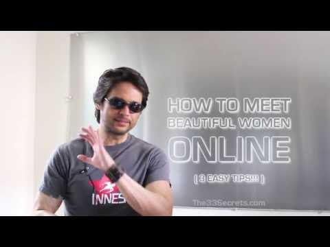 How to meet women offline