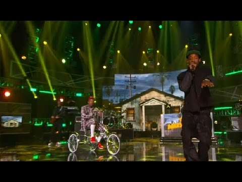 Dj Mustard Brings Out Lil Boosie YG Ty Dolla Sign & TeeFlii Bet Hip Hop Awards 2014