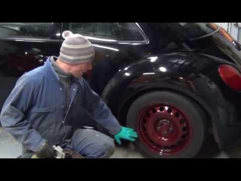 Steel wheels. VW custom hub cap
