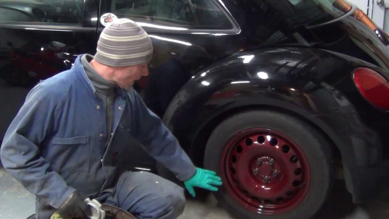 Steel Wheels Vw Custom Hub Cap Youtube