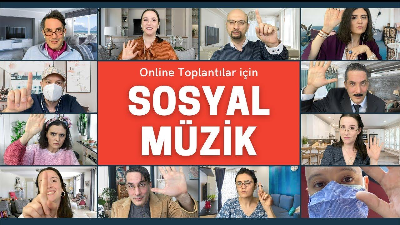 Online Toplantılar için Sosyal Müzik