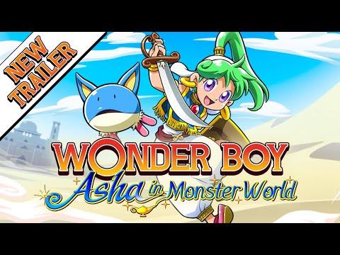 Wonder Boy Asha in Monster World - New adventure-packed Trailer