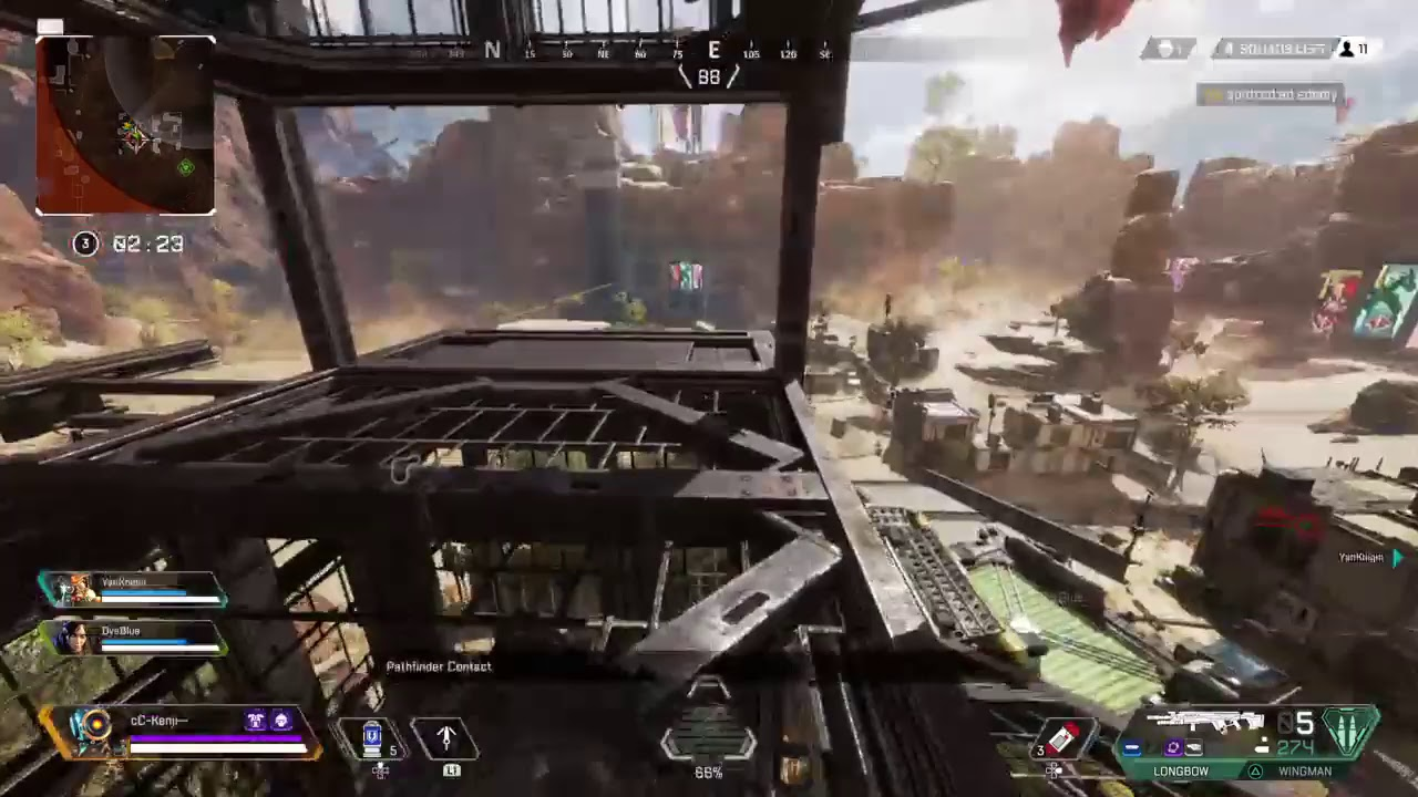 Apex legends   w/ BOT gameplay   w/Lifeline x Pathfinder  