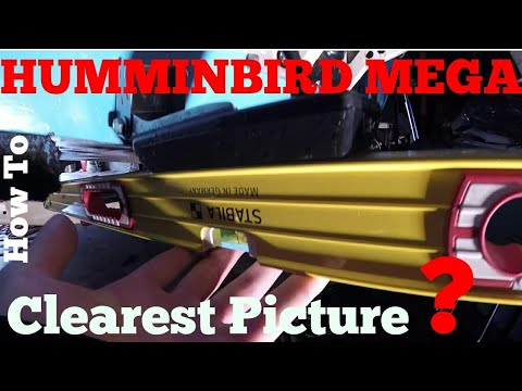 Humminbird MEGA Tutorial - Getting The Clearest SIDE IMAGING Picture PART 1