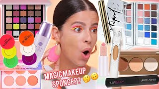 TRYING $1,000 WORTH THE NEW VIRAL MAKEUP... is it over hyped?
