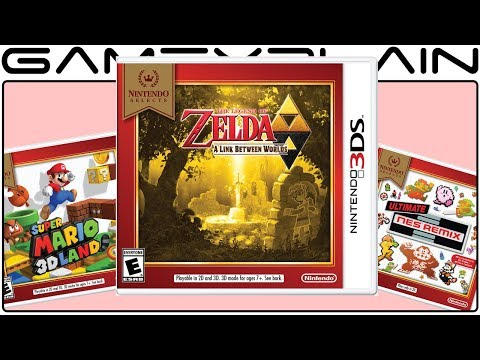 New Nintendo Selects for 3DS Seemingly Squash Rumor of Zelda: ALBW Switch Port