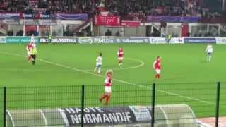 FC Rouen vs Olympique Lyonnais Féminin (#football - Samedi 14 mars 2015)