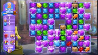 Wonka's World of Candy Level 210 - NO BOOSTERS + FULL STORY ???? | SKILLGAMING ✔️