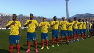Tutorial uniforme de Ecuador eliminatorias Rusia2018 para PES2016 PS4 Next-Gen PESnosUNE