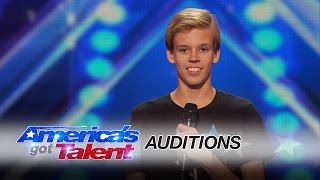 cody the twirler 14 year old puts a fun spin on baton twirling america s got talent 2016