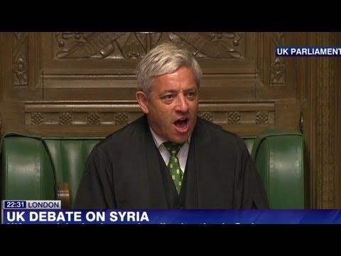 UK's David Cameron defeated on Syria