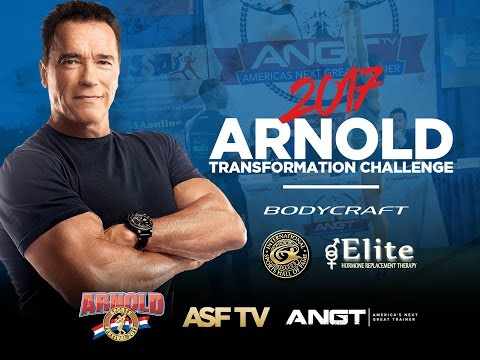 Marine Vet determined to change his life. The Arnold Transformation Challenge.