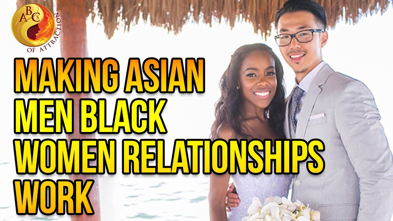 woman man black Asian love