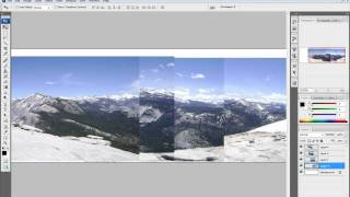 Photoshop Tutorial: Auto Align Layer: Panoramic photo