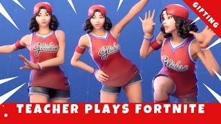 FORTNITE LIVE// Custom matchmaking// {GIFTING} // Teacher plays FORTNITE