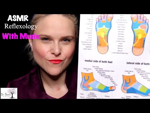 [ASMR] Spa: Reflexology Treatment With Music Roleplay