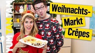 Süße & herzhafte Crêpes mit AlexiBexi // Weihnachtsmarkt-Woche #3  // #yumtamtam
