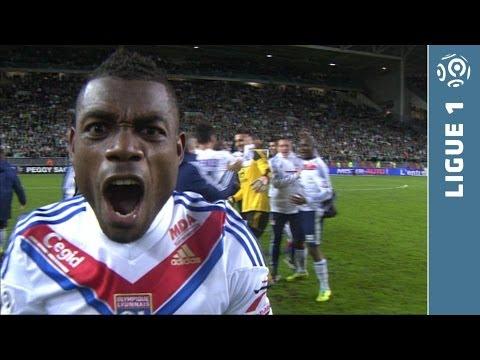 AS Saint-Etienne – Olympique Lyonnais (1-2) – Le résumé (ASSE – OL) – 2013/2014