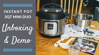 My OTHER New Baby! || Instant Pot Mini Unboxing, Assembly & Boiled Egg Demo