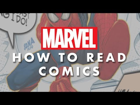 How To Read Comics The Marvel Way!   WORDS Edition