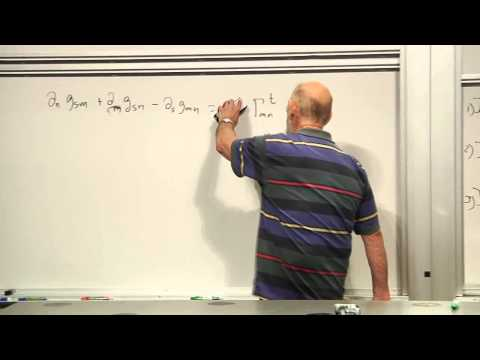 General Relativity Lecture 3