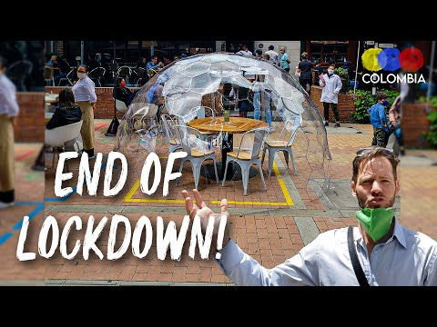 Colombia OPENS UP!! How Bogotá Looks After Quarantine - Colombian Travel Guide
