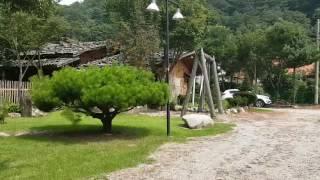 북설악황토마을의 한여름