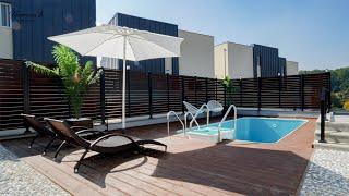 수영장, 중정이 있는 품격있는 고급 단독주택 l Hig…