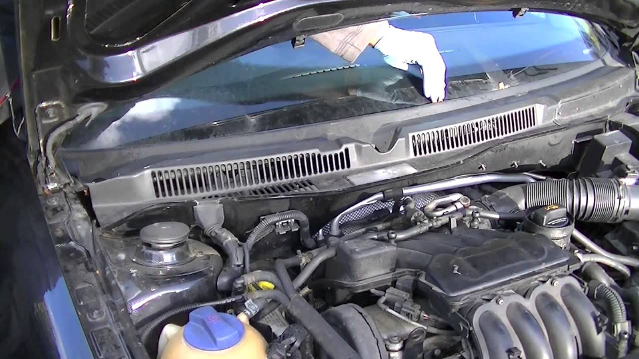 How To Remove Your Vw Ecu Or Ecm Youtube 2002 Jetta Engine Diagram