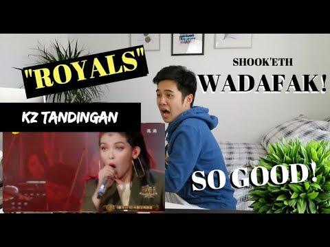 "KZ TANDINGAN - ""ROYALS"" (The Singer 2018) Phenomenal Performance | (Reaction Video)"