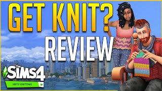 The Sims 4 Nifty Knitting Review - Gameplay Features and Additions