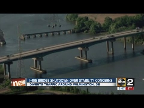I-495 Bridge Issues To Lead To Traffic Woes In Maryland, Delaware