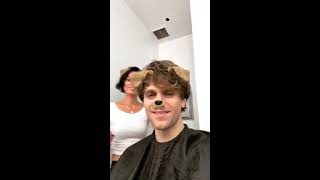 Keegan Allen BTS of new movie 'Escape Real life'