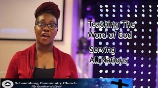 Media Announcement for  Schaumburg Community Church