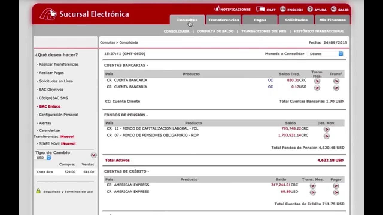 tutorial consulta su estado de cuenta en la sucursal electrónica
