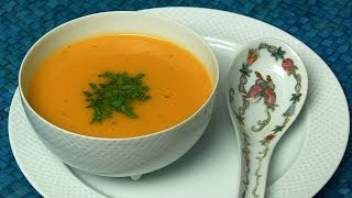 How To Cook Tomato Vichyssoise Soup (tomato & Leek Soup) By Asha Khatau