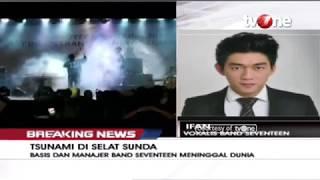 Cerita dan Kesaksian Vokalis Band Seventeen saat Diterjang Tsunami