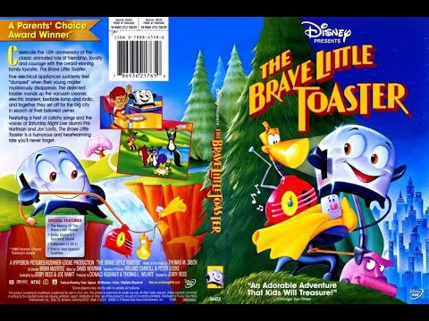 The Brave Little Toaster 2003 DVD Menu Walkthrough