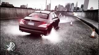 GTA IV: Grand Theft Auto IV Gameplay Mercedes Benz CLA 250 2014 [ HD ] PC
