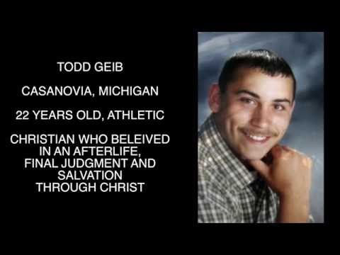 The Strange Disappearance and Water Death of Todd Geib