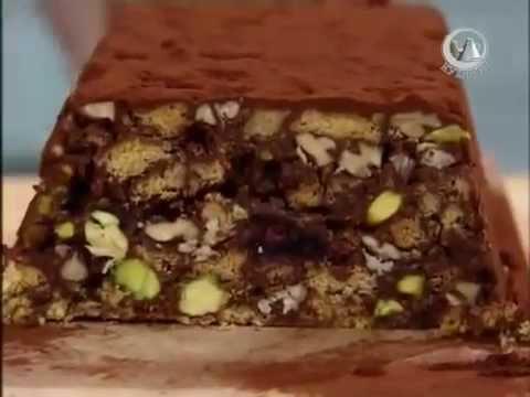 Джейми Оливер - быстрый шоколадный торт холодный