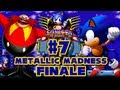 Sonic CD PC - (1080p) Part 7 FINALE - Metallic Madness Good Ending