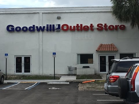 Shop With Me + Haul: GOODWILL OUTLET Fort Lauderdale