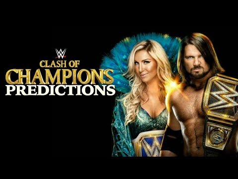 WWE CLASH OF CHAMPIONS 2017 PREDICTIONS!