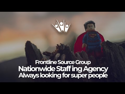 Frontline Source Group Nationwide Staffing Agency