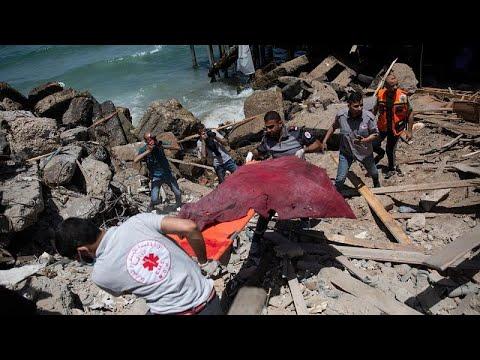 شاهد: الدمار والموت يلفان غزة بعد الغارات الإسرائيلية  - نشر قبل 2 ساعة
