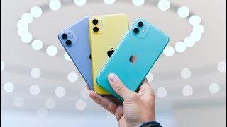 iPhone 11 - ALL THE COLORS - Color Comparison!