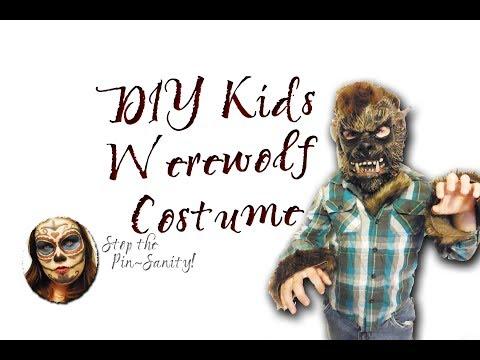 Diy werewolf costume girl